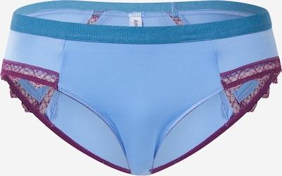 Dora Larsen Slip 'PAIGE' in hellblau / rotviolett, Produktansicht