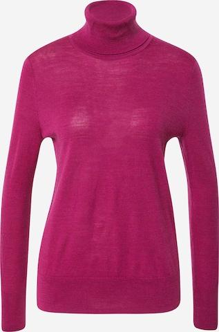 GAP Sweater 'OC MERINO T NECK' in Purple