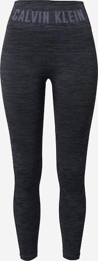 Calvin Klein Performance Leggings in graumeliert / schwarz, Produktansicht