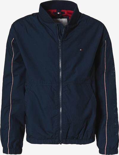 TOMMY HILFIGER Tussenjas in de kleur Nachtblauw / Rood / Wit, Productweergave