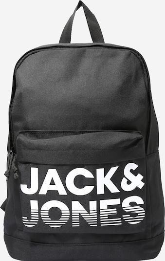 Jack & Jones Junior Rucksack in schwarz / weiß, Produktansicht