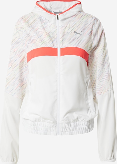 PUMA Athletic Jacket in Mixed colors / White, Item view