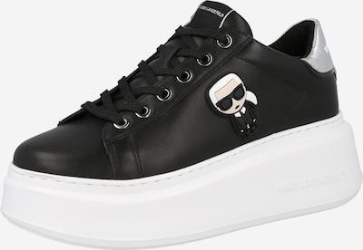 Karl Lagerfeld Sneaker 'ANAKAPRI' in schwarz / weiß, Produktansicht