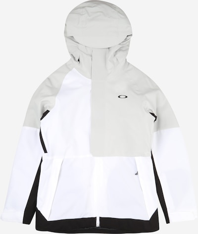 OAKLEY Outdoor jacket 'CAMELLIA' in grey / black / white, Item view