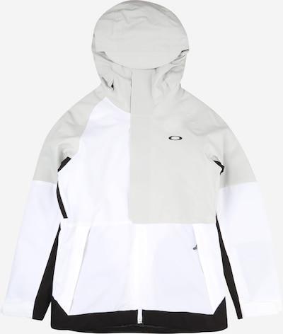 OAKLEY Veste outdoor 'CAMELLIA' en gris / noir / blanc, Vue avec produit