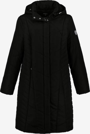 Ulla Popken Steppmantel in schwarz, Produktansicht