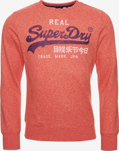 Superdry Sweat-shirt en orange: Vue de face