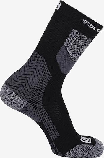 SALOMON Socken 'Säntis' in schwarz, Produktansicht