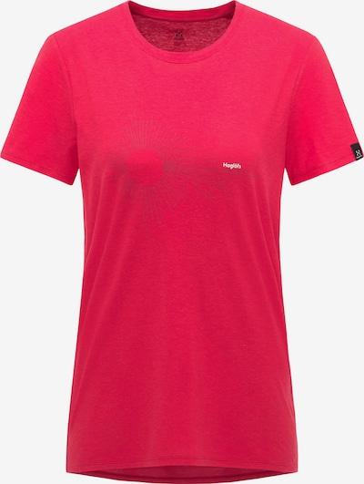 Haglöfs Functioneel shirt in de kleur Rood / Wit, Productweergave