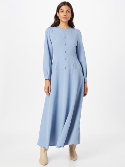 Rochie de seară Trendyol pe albastru deschis, Vizualizare model