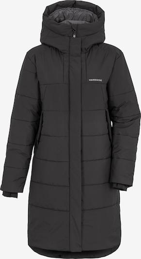 Didriksons Manteau fonctionnel 'TINDRA' en noir, Vue avec produit