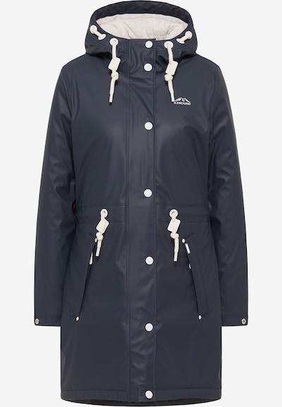 ICEBOUND Regenmantel in nachtblau, Modelansicht