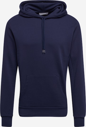 By Garment Makers Sweat-shirt 'Jones' en bleu marine, Vue avec produit
