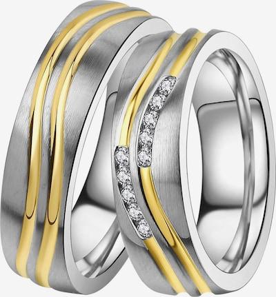 DOOSTI Ring in gold / silber / transparent, Produktansicht