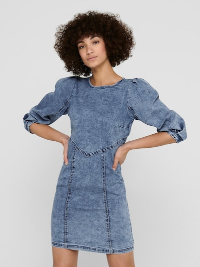 Only (Tall) Kleid 'Ventura' in blue denim, Modelansicht