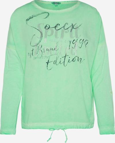 Soccx Blusenshirt in grün, Produktansicht