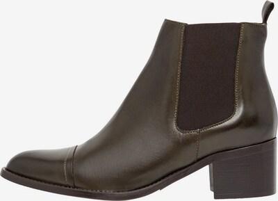 Bianco Chelsea Boots 'BIACAROL' en marron: Vue de face