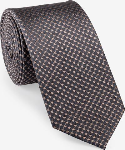 UNA Germany Krawatte in beige / bronze, Produktansicht