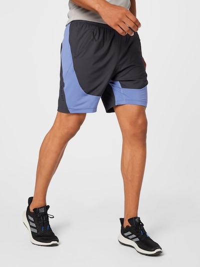 ADIDAS PERFORMANCE Športové nohavice - antracitová / levanduľová / čierna, Model/-ka