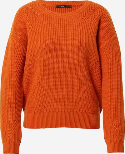 SET Pullover in orange, Produktansicht