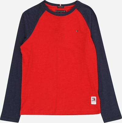 TOMMY HILFIGER Shirt in navy / rot: Frontalansicht