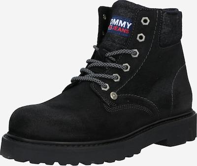 Auliniai batai su raišteliais iš Tommy Jeans , spalva - juoda, Prekių apžvalga