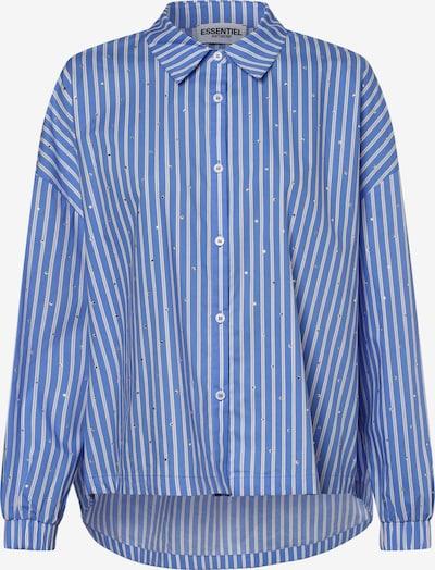 Essentiel Antwerp Bluse in blau / weiß, Produktansicht