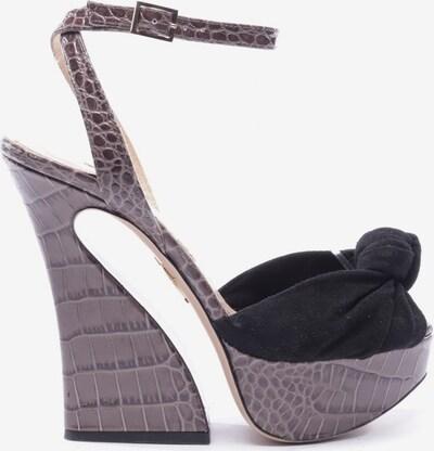 Charlotte Olympia Sandaletten in 37,5 in braun / schwarz, Produktansicht