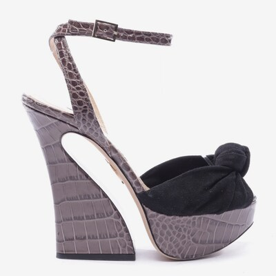 Charlotte Olympia Sandals & High-Heeled Sandals in 37,5 in Brown / Black, Item view