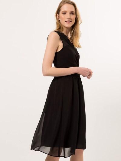 zero Kleid in schwarz, Modelansicht