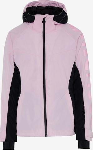 rožinė CHIEMSEE Sportinė striukė