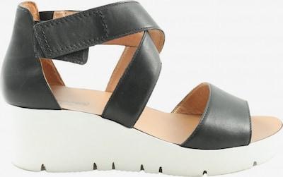 Kämpgen Komfort-Sandalen in 41 in schwarz / weiß, Produktansicht