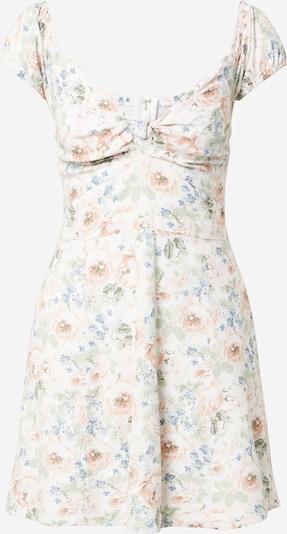 Abercrombie & Fitch Kleid in hellblau / oliv / rosa / weiß, Produktansicht