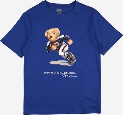 POLO RALPH LAUREN T-Shirt in beige / nachtblau / hellblau / braun, Produktansicht