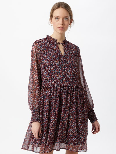 Y.A.S Kleid in mischfarben / rot, Modelansicht