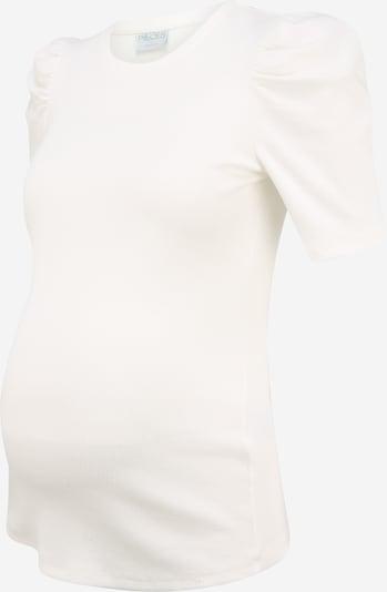 Pieces Maternity Shirt 'ANNA' in de kleur Wit, Productweergave