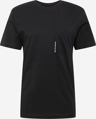 fekete / fehér SELECTED HOMME Póló, Termék nézet