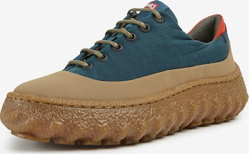 CAMPER Athletic Lace-Up Shoes 'Ground' in Blue