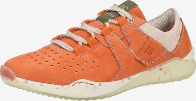 JOSEF SEIBEL Sneaker in beige / orange, Produktansicht