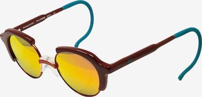 Zoobug Retrosonnenbrille 'Jonas' für Kinder in rot, Produktansicht