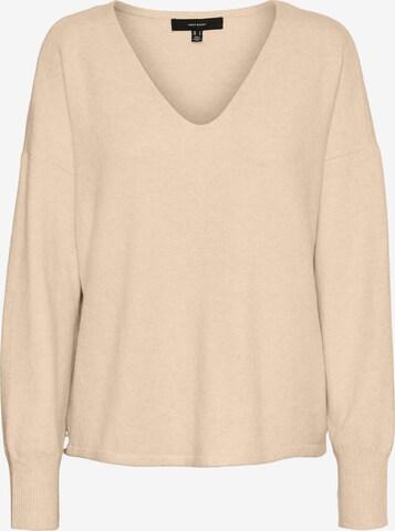 VERO MODA Sweater in Brown