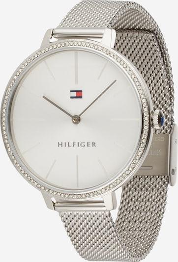 TOMMY HILFIGER Analoginen kello värissä hopea / valkoinen, Tuotenäkymä