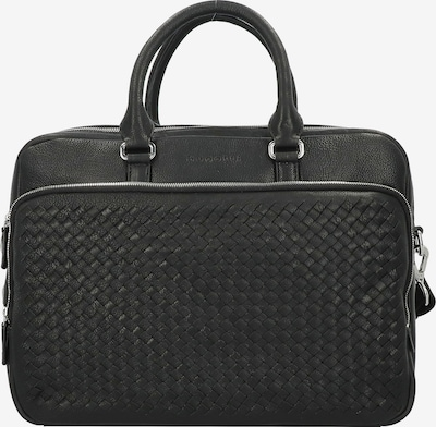 bugatti Aktentas in de kleur Zwart, Productweergave