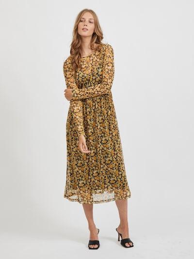 VILA Kleid 'Candas' in gelb / mischfarben, Modelansicht