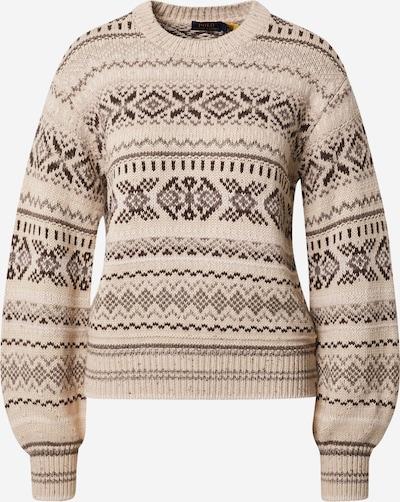 Polo Ralph Lauren Pullover in beige / braun / dunkelbraun, Produktansicht