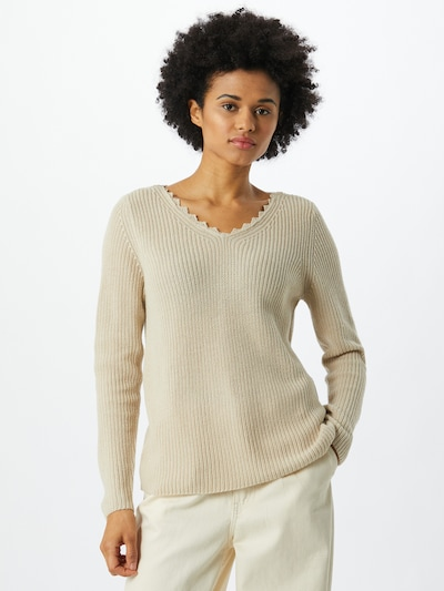 ONLY Sweater in Beige, View model