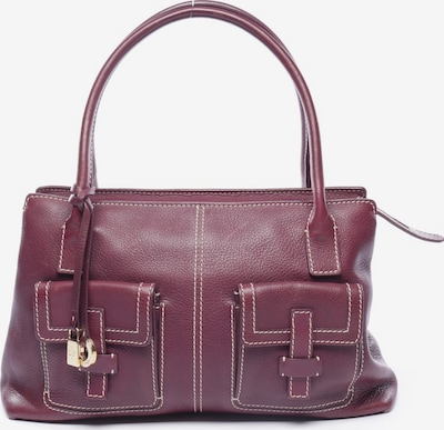 Loro Piana Handtasche in M in pflaume, Produktansicht