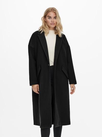 ONLY Between-Seasons Coat 'ONLTRILLION' in Black, View model