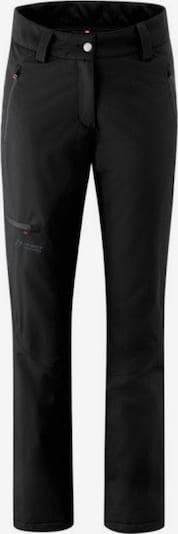 Maier Sports Hose 'mTEX el. - Dunit' in schwarz, Produktansicht