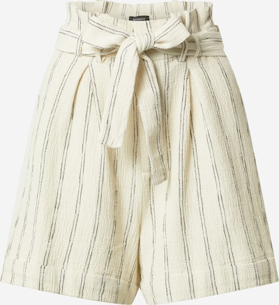 Bardot Bandplooibroek in de kleur Grijs / Wit, Productweergave